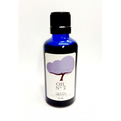 Organic argan oil Fair Trade (UCFA Morocco) infused with lavender essential oil. High Grade