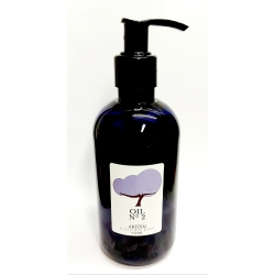 Organic argan oil Fair Trade (UCFA Morocco) Infused with Lavender Essential Oil French Fine Population. 250ml Professional size