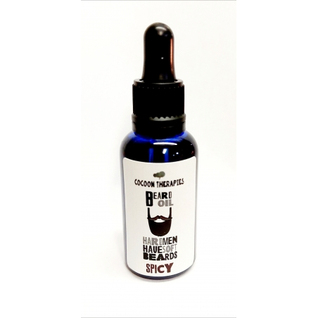 Organic Extra Virgin Argan Oil, Premium quality, infused with a spicy mix of essential oils. 30ml with pipette