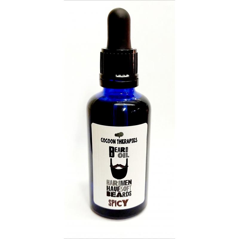 Argan infusion huiles essentielles épices. Bouteille 50ml en verre bleu avec pipette. Soutien à l'UCFA, coopératives.