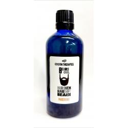 huile d'argan infusion huiles essentielles de neroli (fleur d'oranger). bouteille en verre bleu 100ml.